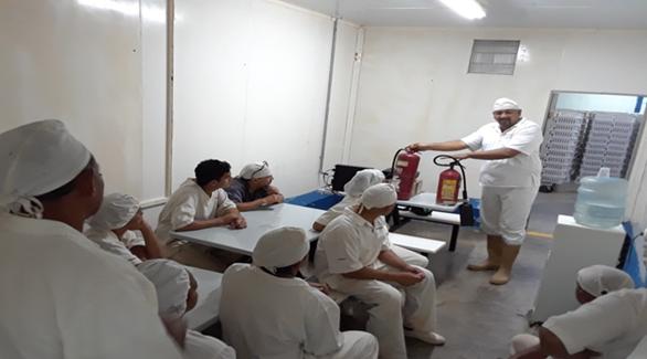 Personal de Pronavicola recibió formación para atender emergenciasindustriales